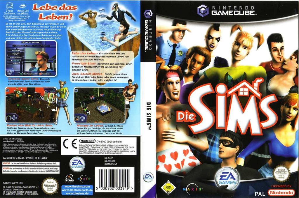 Die Sims Wii coverfullHQ (GCIP69)