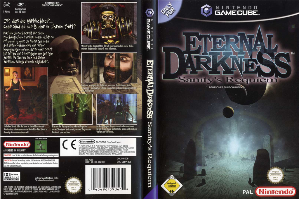 Eternal Darkness: Sanity's Requiem Wii coverfullHQ (GEDP01)