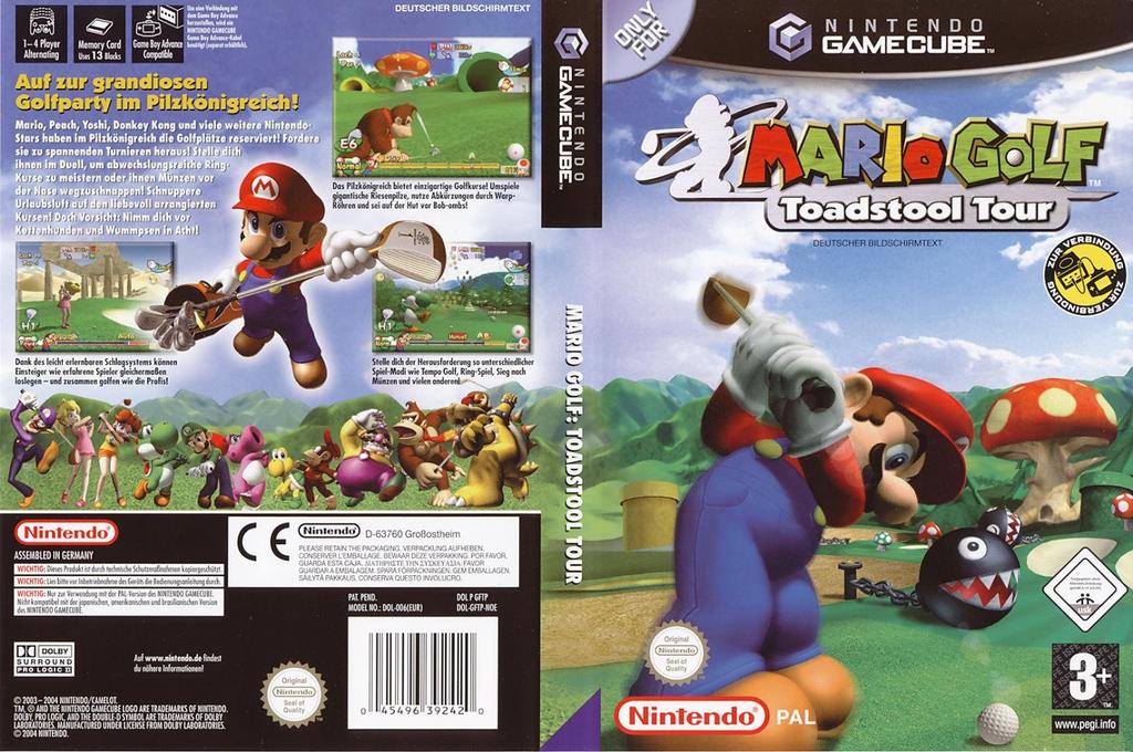 Mario Golf: Toadstool Tour Wii coverfullHQ (GFTP01)
