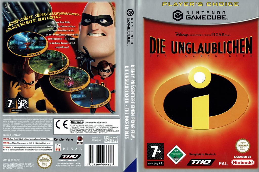 Die Unglaublichen Wii coverfullHQ (GICD78)