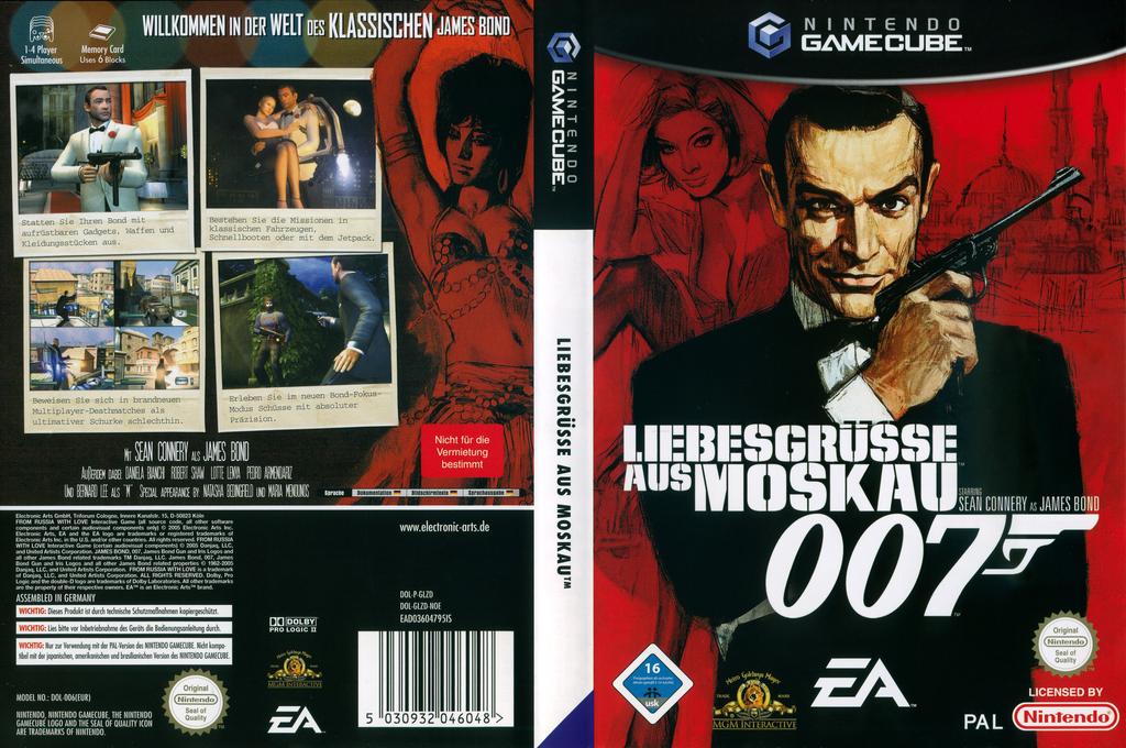 007: Liebesgrüsse aus Moskau Wii coverfullHQ (GLZD69)
