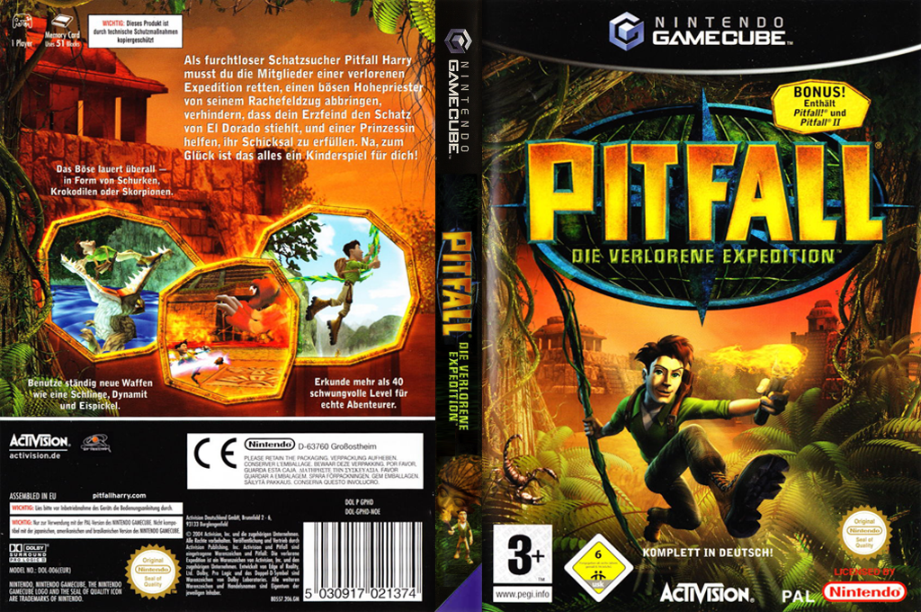 Pitfall: Die verlorene Expedition Wii coverfullHQ (GPHD52)