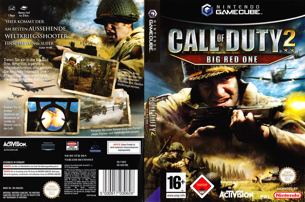 GQCD52 - Call of Duty 2: Big Red One