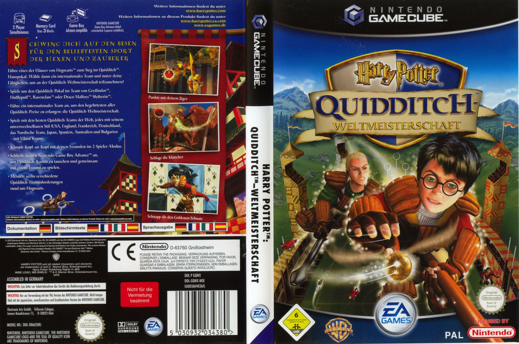 Harry Potter:Quidditch - Weltmeisterschaft Wii coverfullHQ (GQWX69)