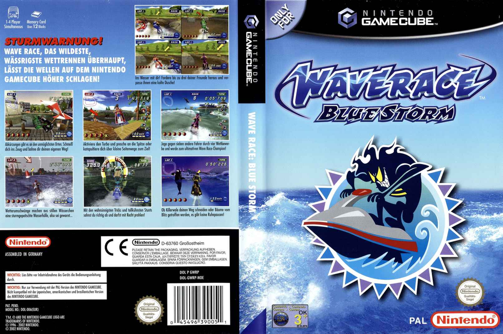 Wave Race: Blue Storm Wii coverfullHQ (GWRP01)
