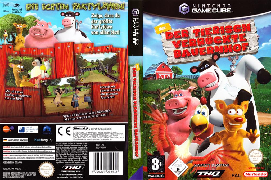 Der Tierisch Verrückte Bauernhof Wii coverfullHQ (GYAD78)