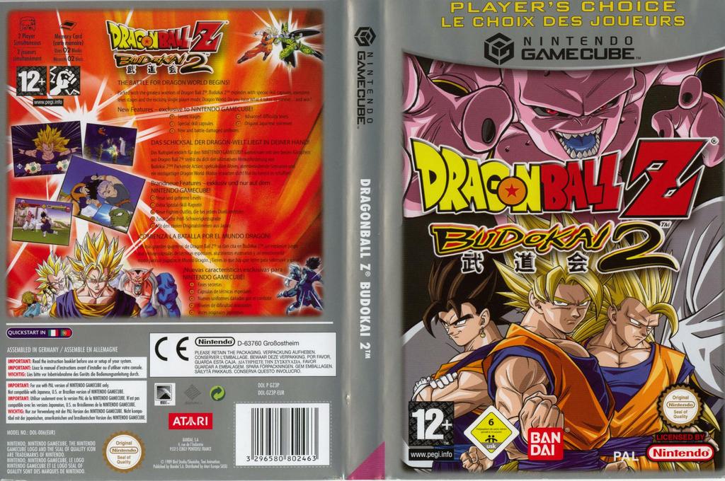 GZ3PB2 - Dragon Ball Z: Budokai 2