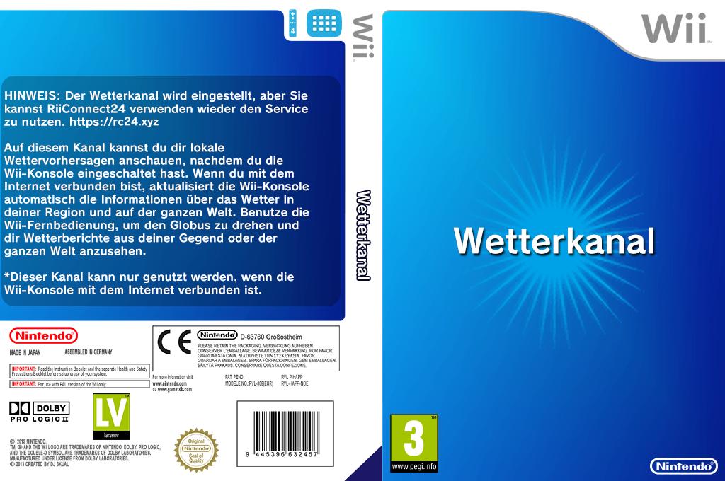 Wetterkanal Wii coverfullHQ (HAFP)