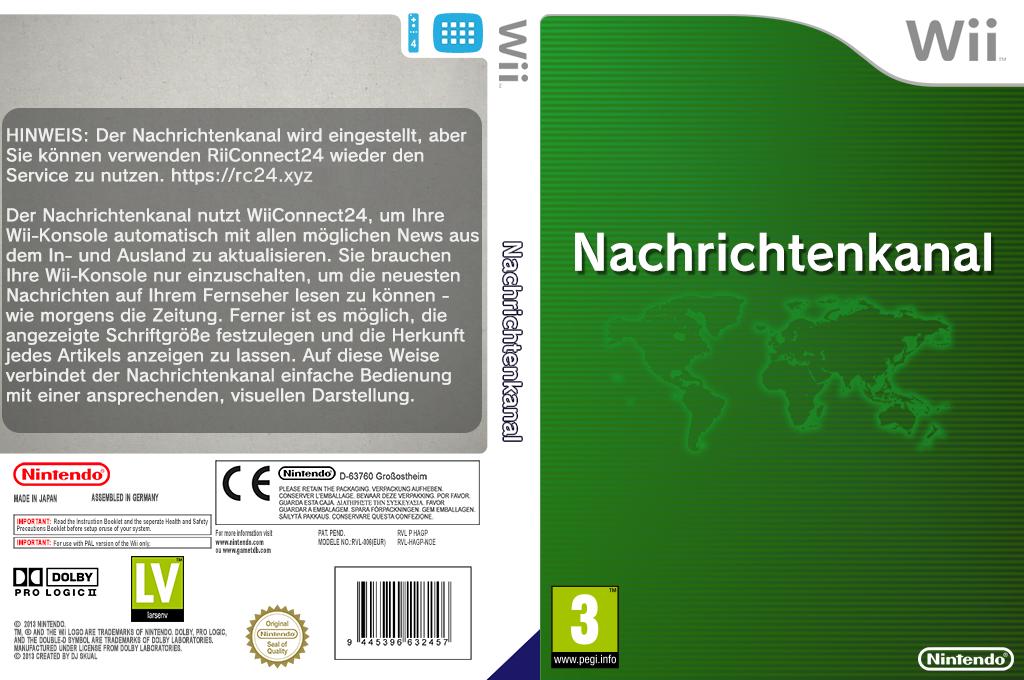 Nachrichtenkanal Wii coverfullHQ (HAGP)