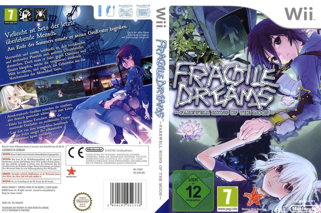 Fragile Dreams - Farewell Ruins of the Moon Wii coverfullHQ (R2GP99)