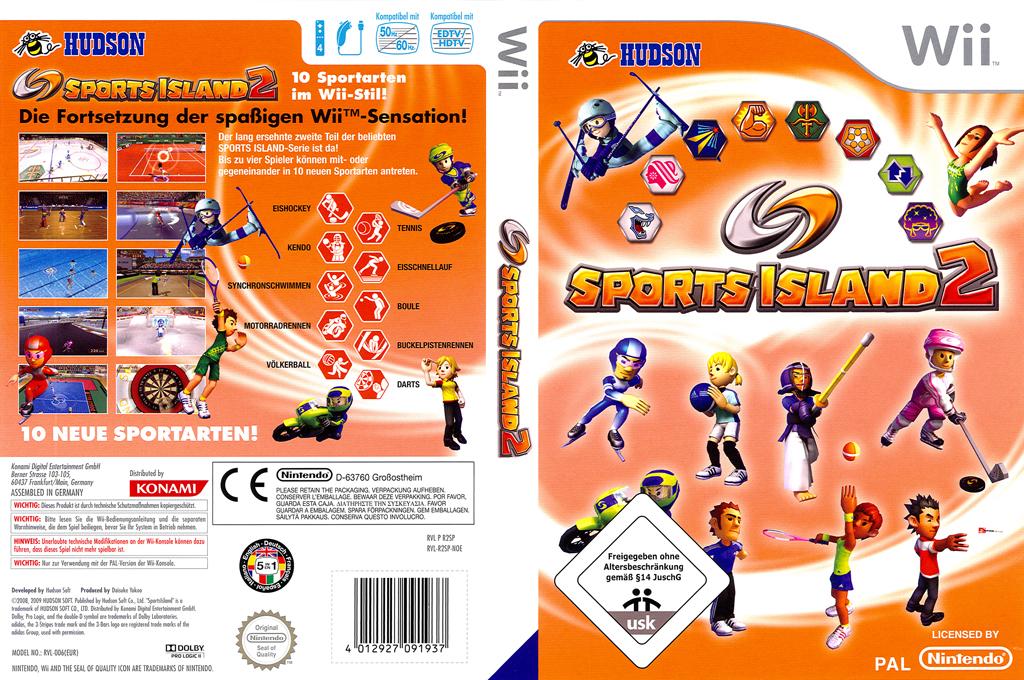 Sports Island 2 Wii coverfullHQ (R2SP18)