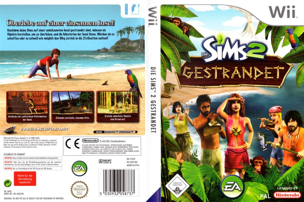 Die Sims 2: Gestrandet Wii coverfullHQ (R42P69)