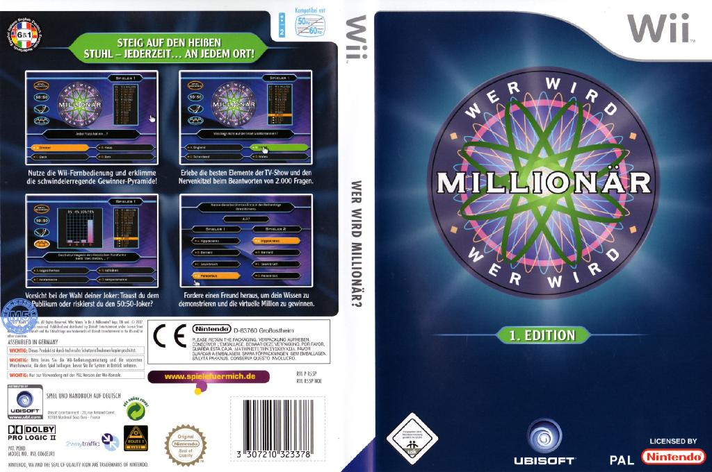 Wer wird Millionär Wii coverfullHQ (R55P41)