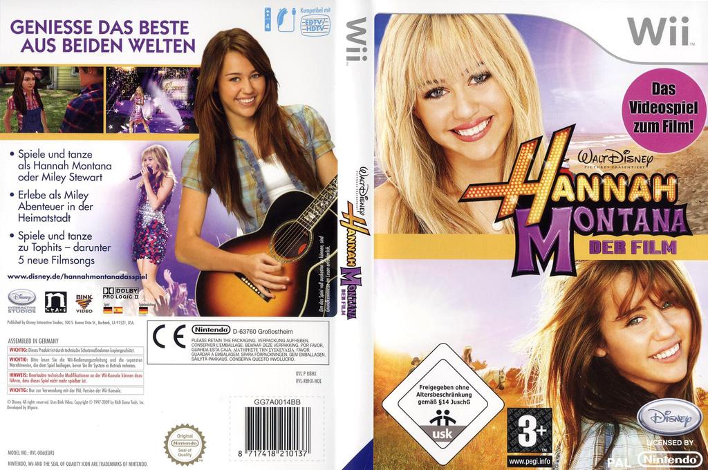 Hannah Montana: Der Film Wii coverfullHQ (R8HX4Q)