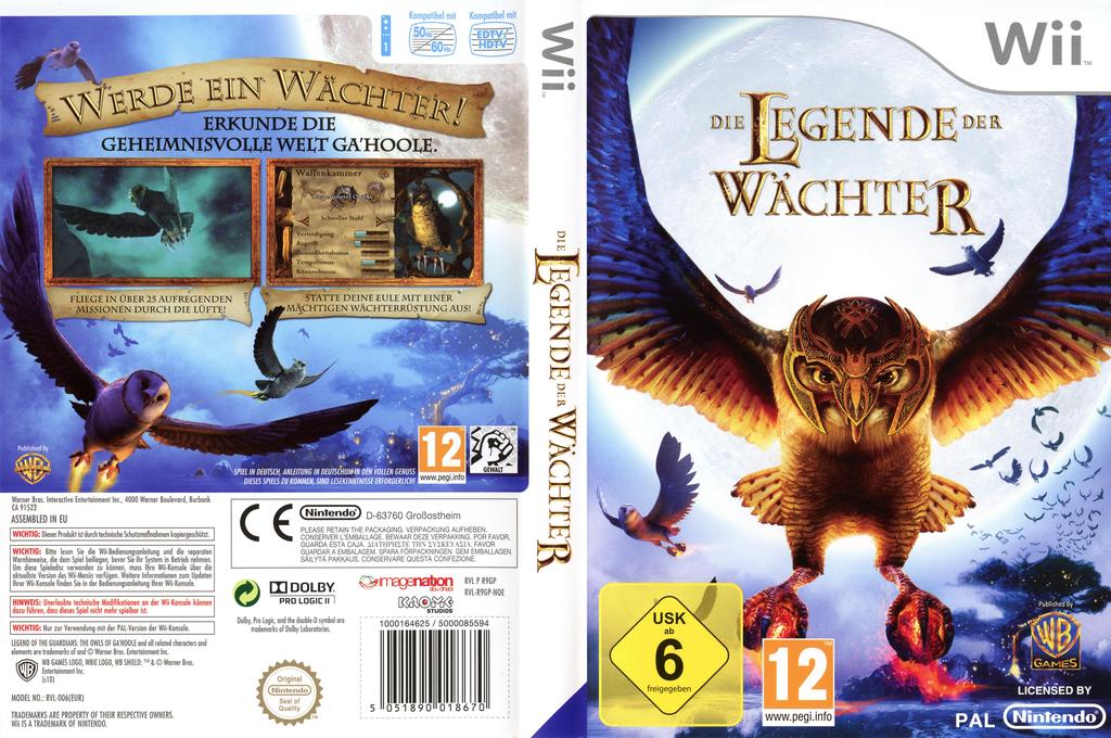 Die Legende der Wächter Wii coverfullHQ (R9GPWR)