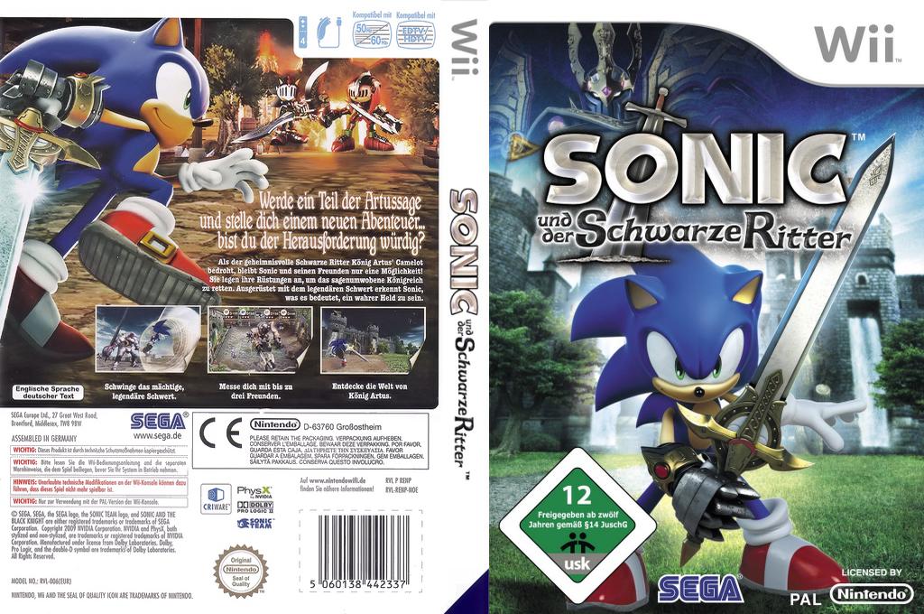Sonic und der Schwarze Ritter Wii coverfullHQ (RENP8P)