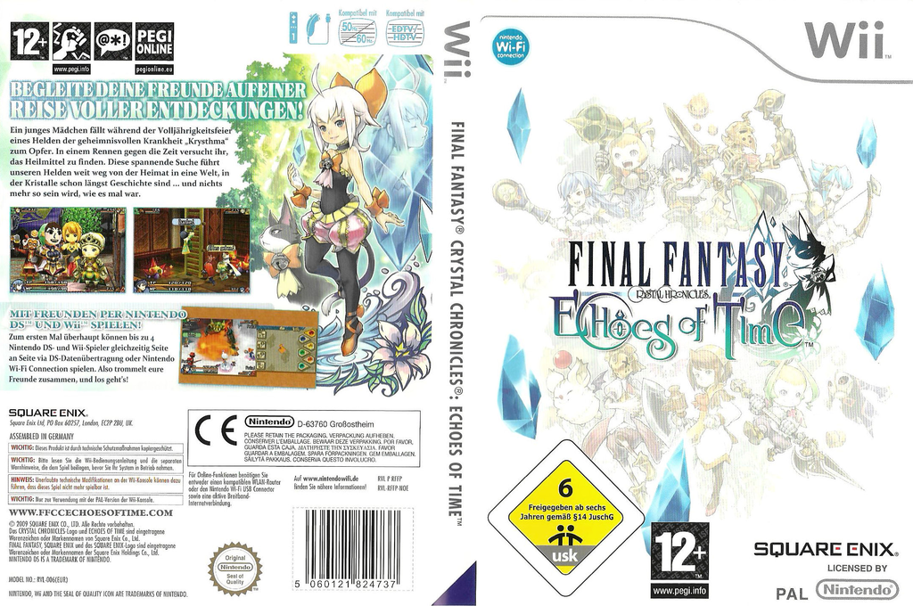 Final Fantasy Crystal Chronicles: Echoes of Time Wii coverfullHQ (RFFPGD)