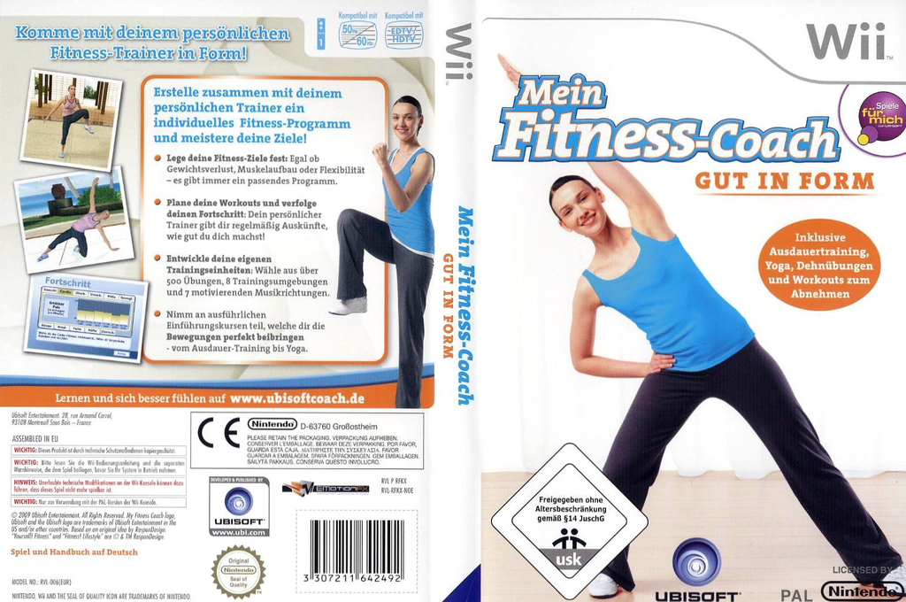 Mein Fitness-Coach: Gut in Form Wii coverfullHQ (RFKP41)