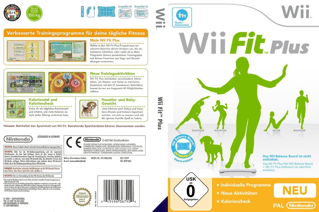 Wii Fit Plus Wii coverfullHQ (RFPP01)