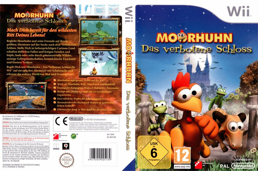 Moorhuhn - Das verbotene Schloss Wii coverfullHQ (RHVPFR)