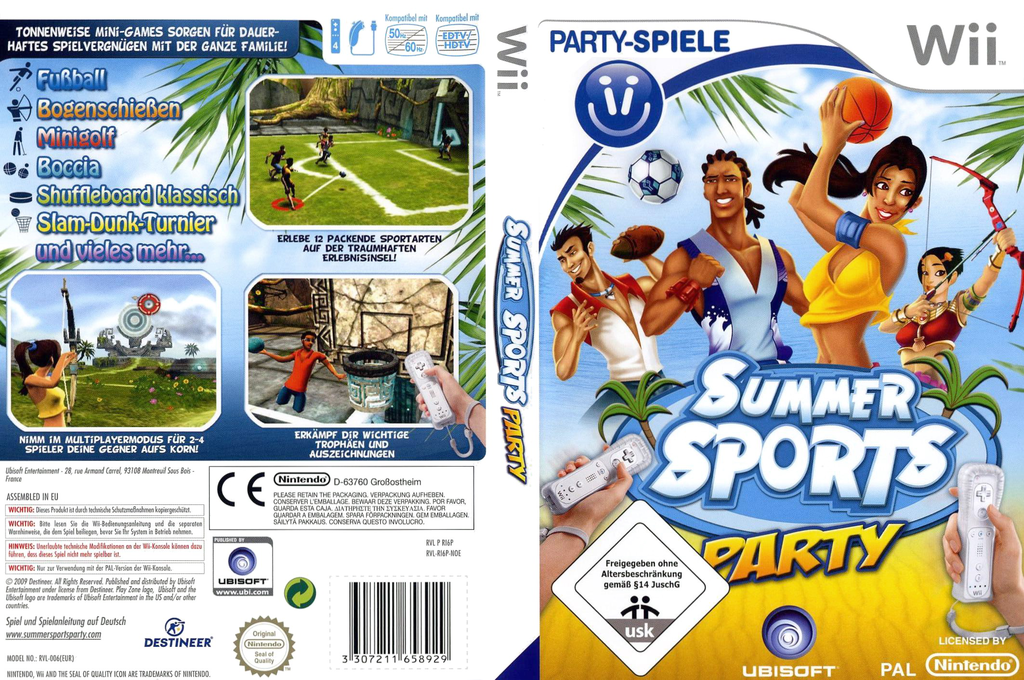 Summer Sports Party Wii coverfullHQ (RI6P41)
