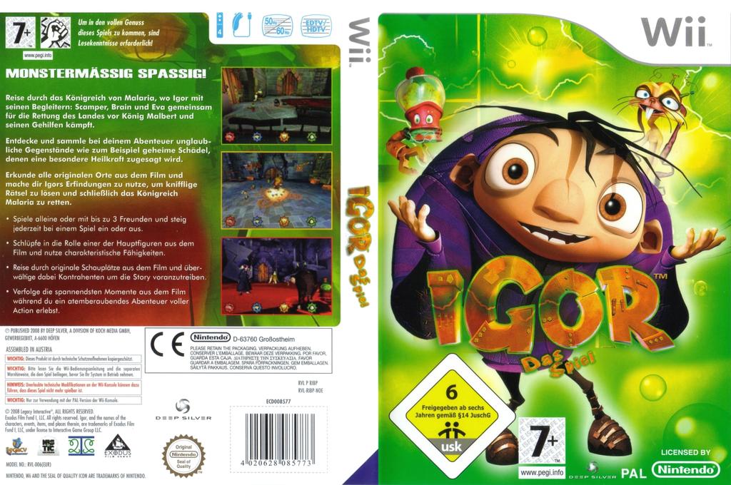 Igor: Das Spiel Wii coverfullHQ (RIBPKM)