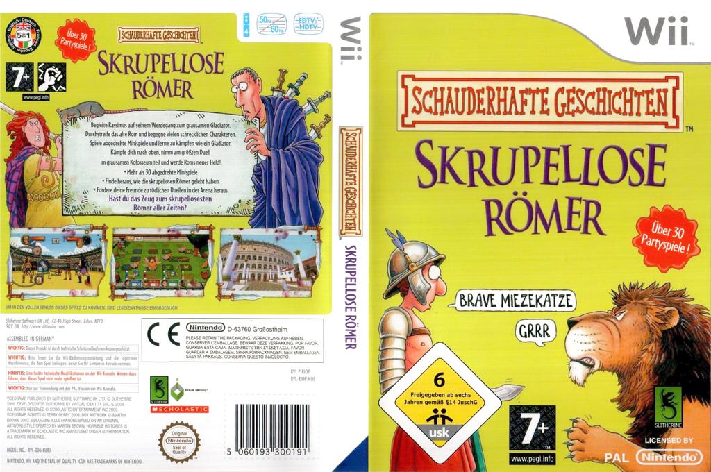 Schauderhafte Geschichten: Skrupellose Römer Wii coverfullHQ (RIOPSU)