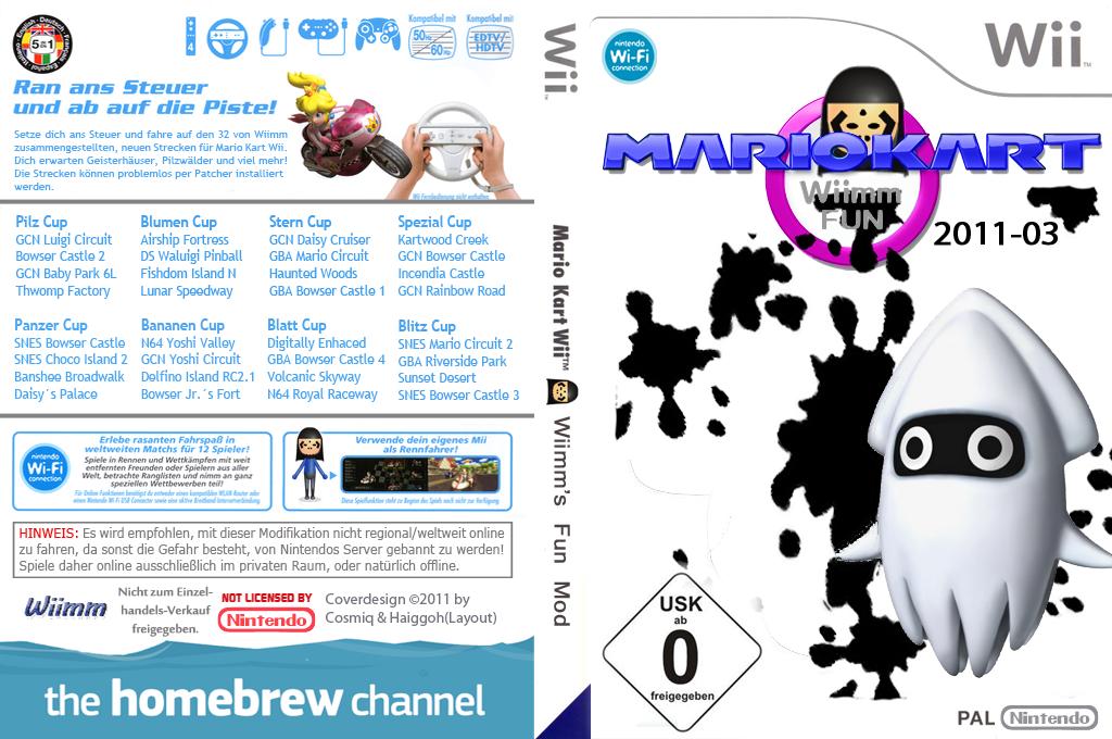 Wiimms MKW Fun 2011-03.pal Wii coverfullHQ (RMCP08)