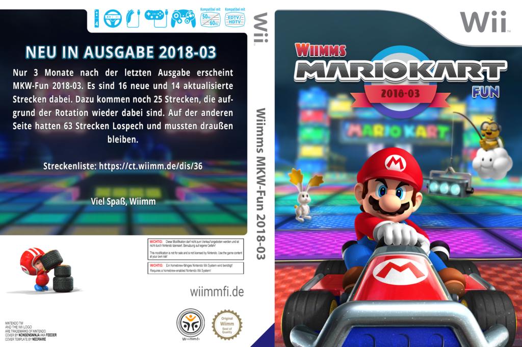 Wiimms MKW-Fun 2018-03.pal Wii coverfullHQ (RMCP36)