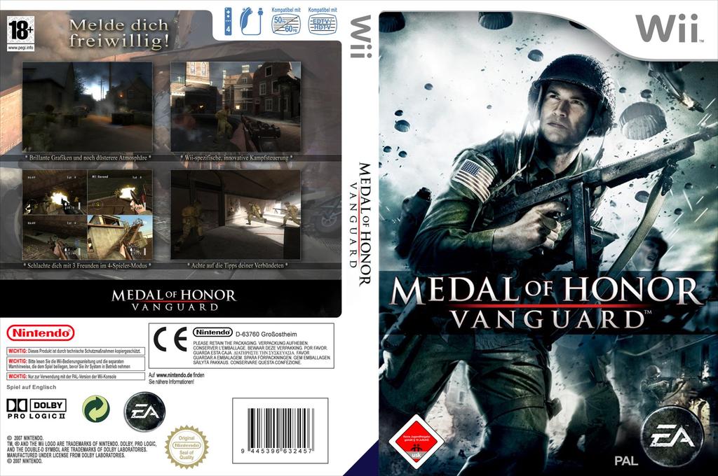 Medal of Honor: Vanguard Wii coverfullHQ (RMVP69)