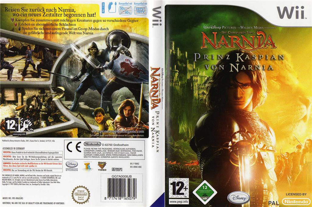 Die Chroniken von Narnia: Prinz Kaspian Wii coverfullHQ (RNNZ4Q)