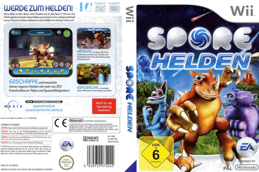 Spore Helden Wii coverfullHQ (RQOP69)