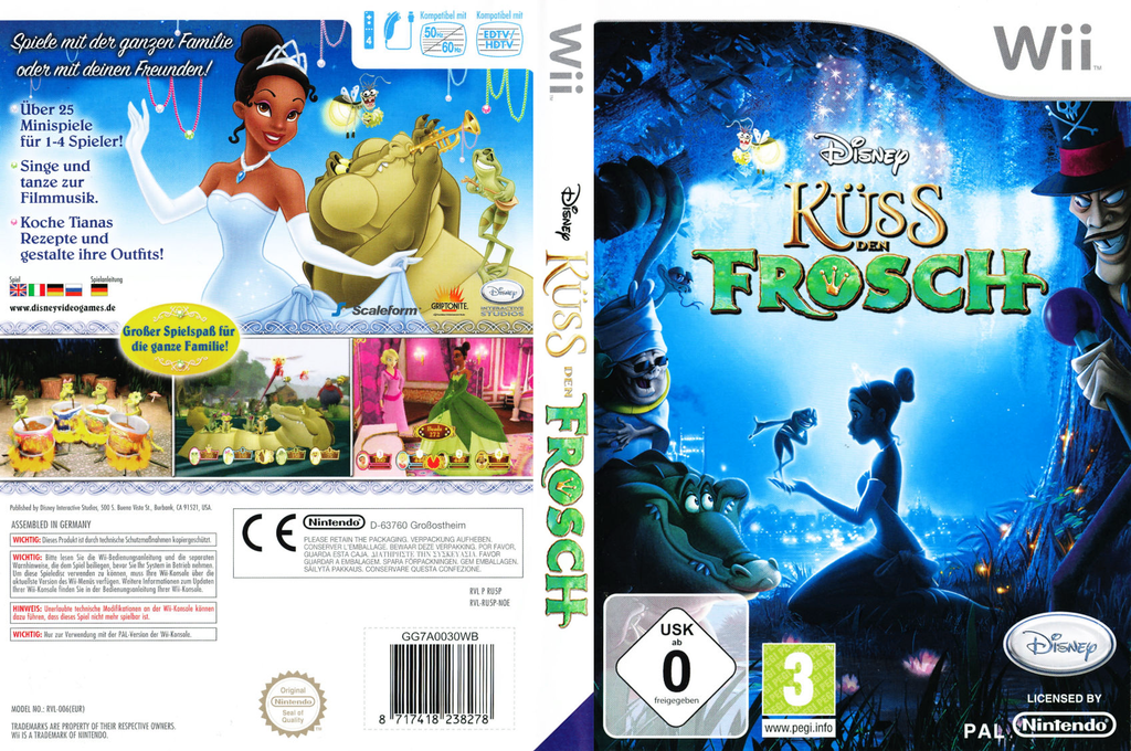 Küss den Frosch Wii coverfullHQ (RU5P4Q)