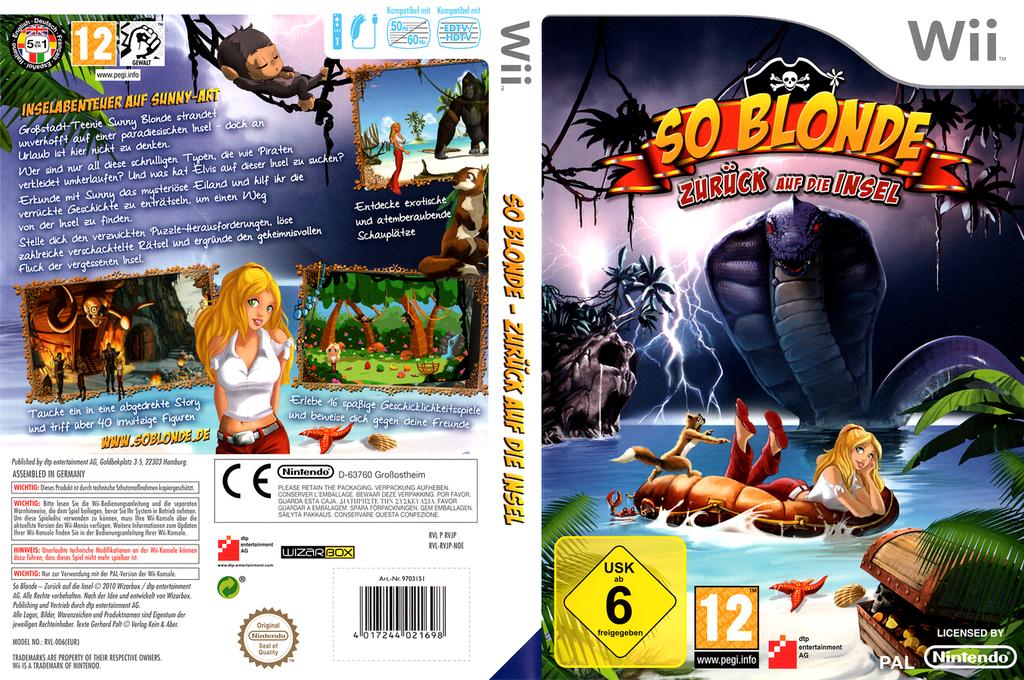 So Blonde: Zurück auf die Insel Wii coverfullHQ (RVJPFR)