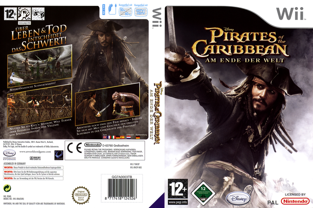 Pirates of the Caribbean: Am Ende der Welt Wii coverfullHQ (RW3P4Q)