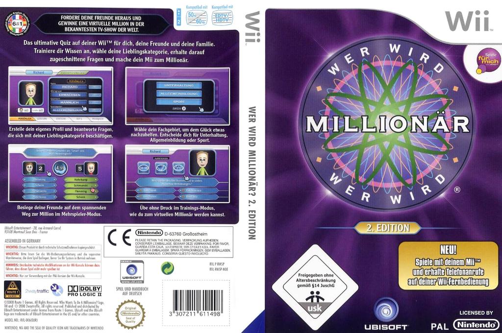 Wer wird Millionär 2 Wii coverfullHQ (RW5P41)