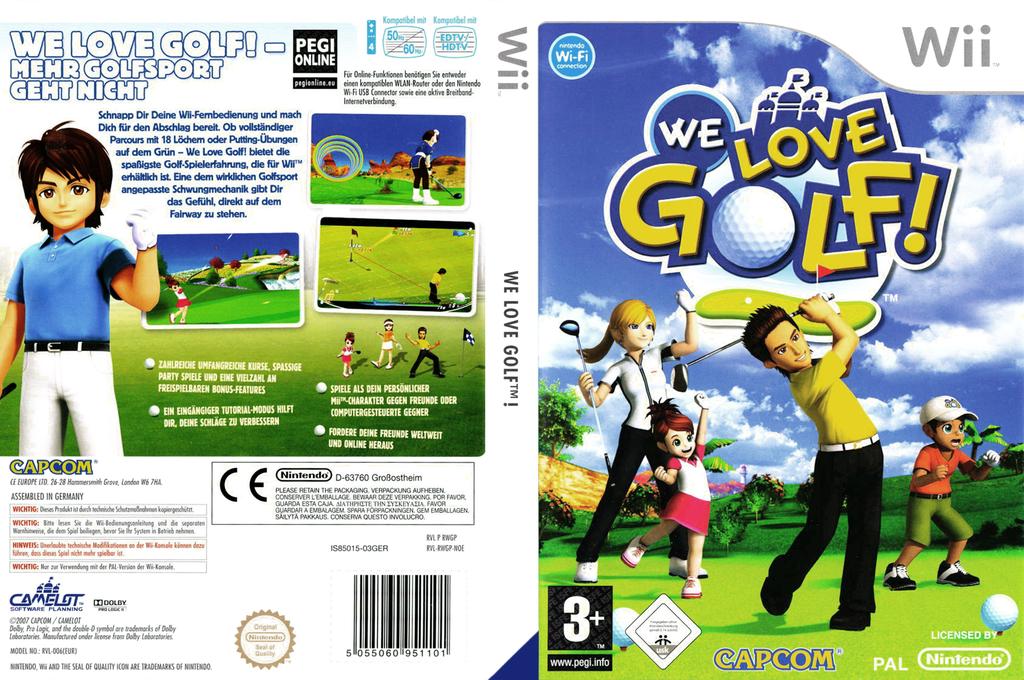 We Love Golf! Wii coverfullHQ (RWGP08)