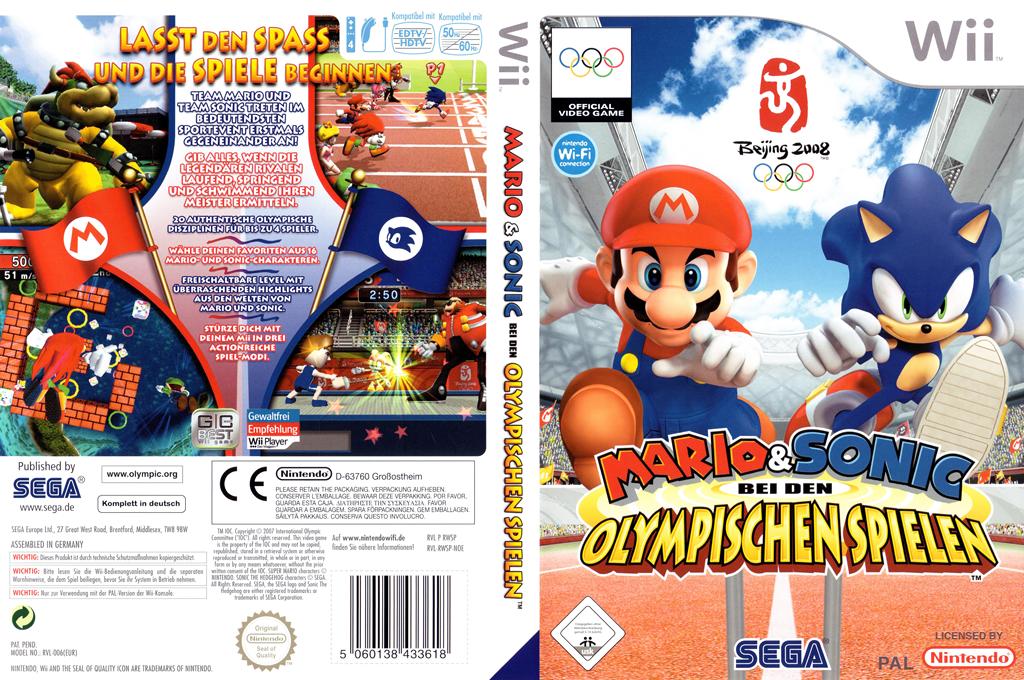 Mario & Sonic bei den Olympischen Spielen Wii coverfullHQ (RWSP8P)