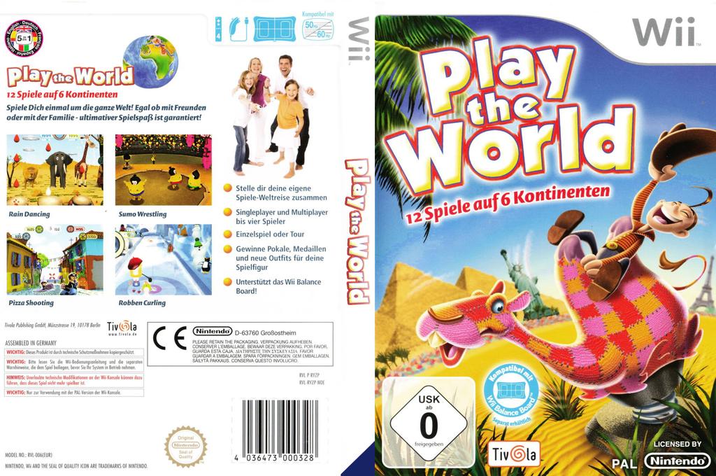 Play the World Wii coverfullHQ (RYZPTV)