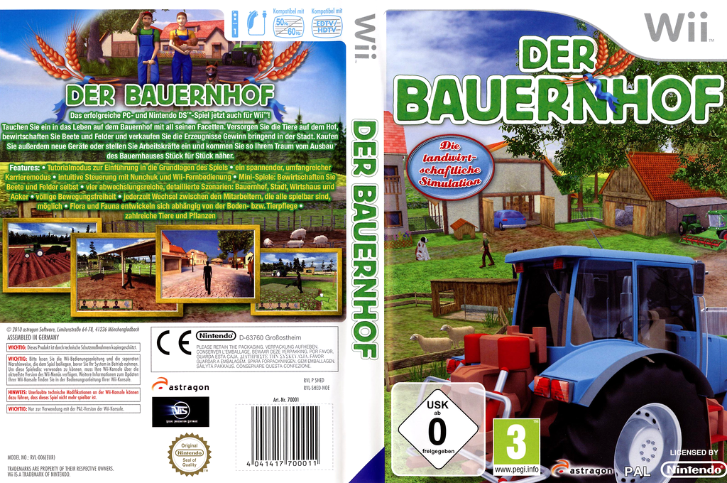 Der Bauernhof Wii coverfullHQ (SHEDRM)