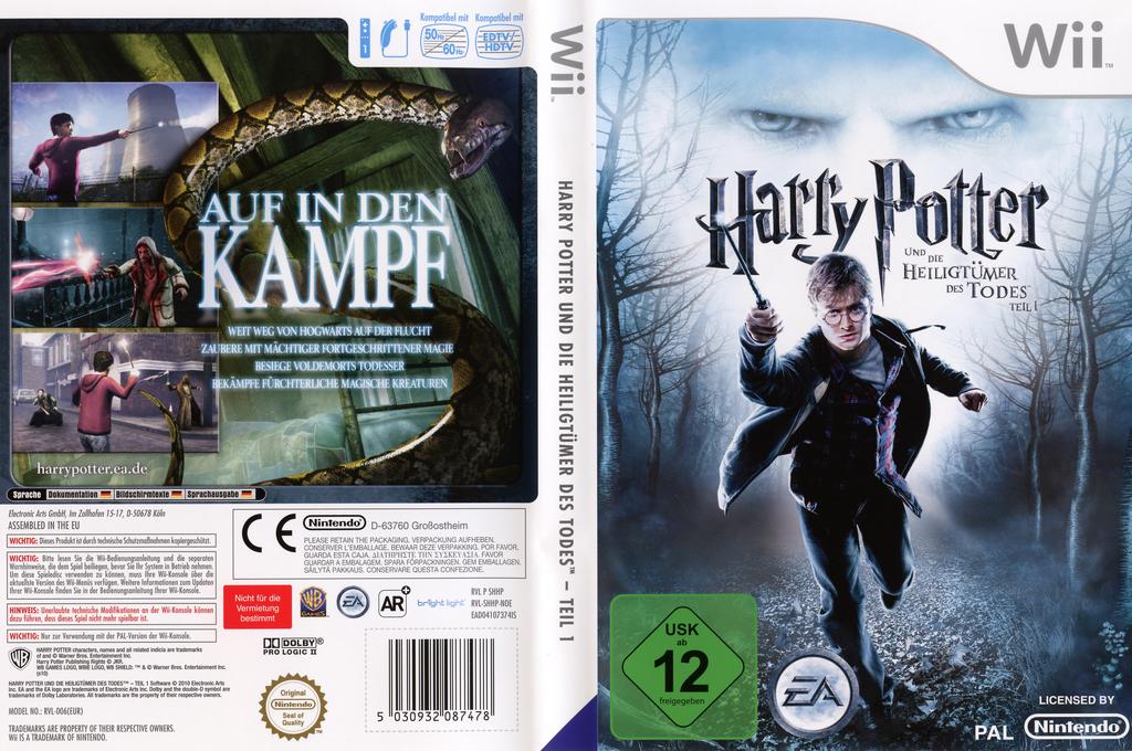 Harry Potter und die Heiligtümer des Todes - Teil 1 Wii coverfullHQ (SHHP69)
