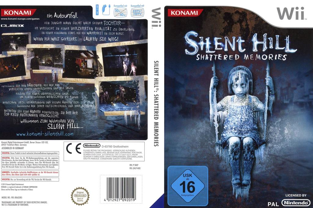 Silent Hill: Shattered Memories Wii coverfullHQ (SHLPA4)