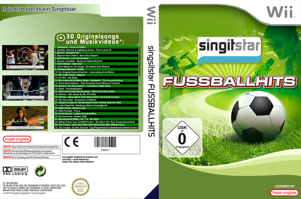 SingItStar Fussballhits Wii coverfullHQ (SIFPOH)