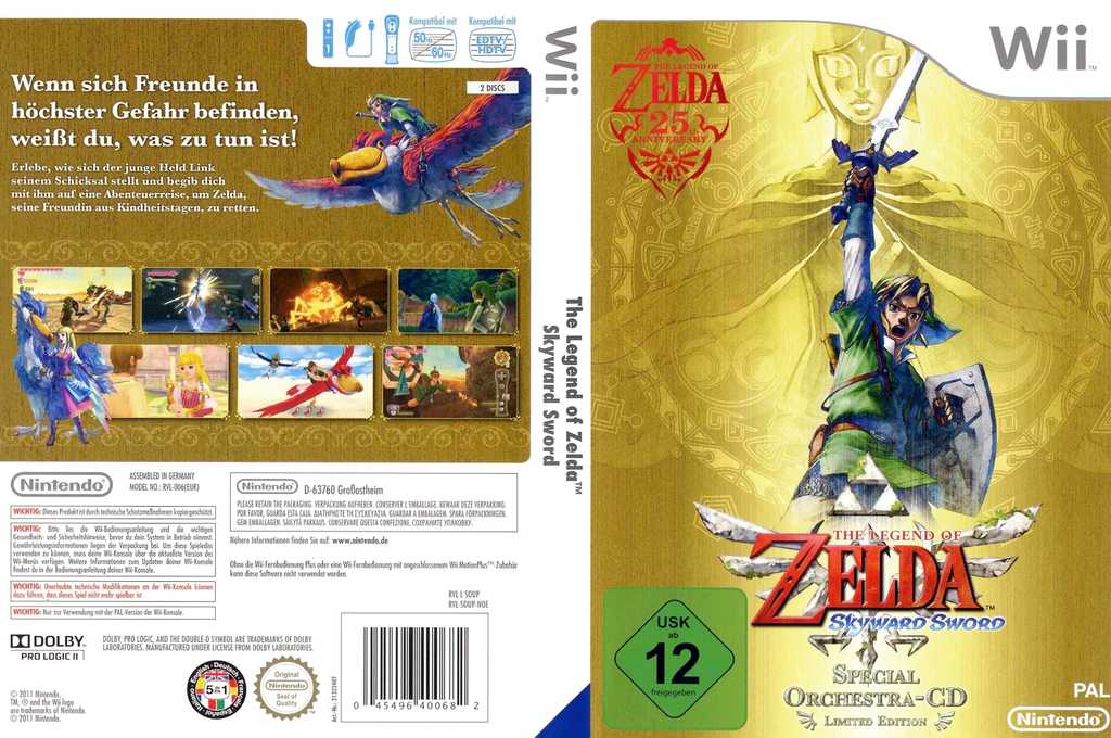 The Legend of Zelda: Skyward Sword Wii coverfullHQ (SOUP01)