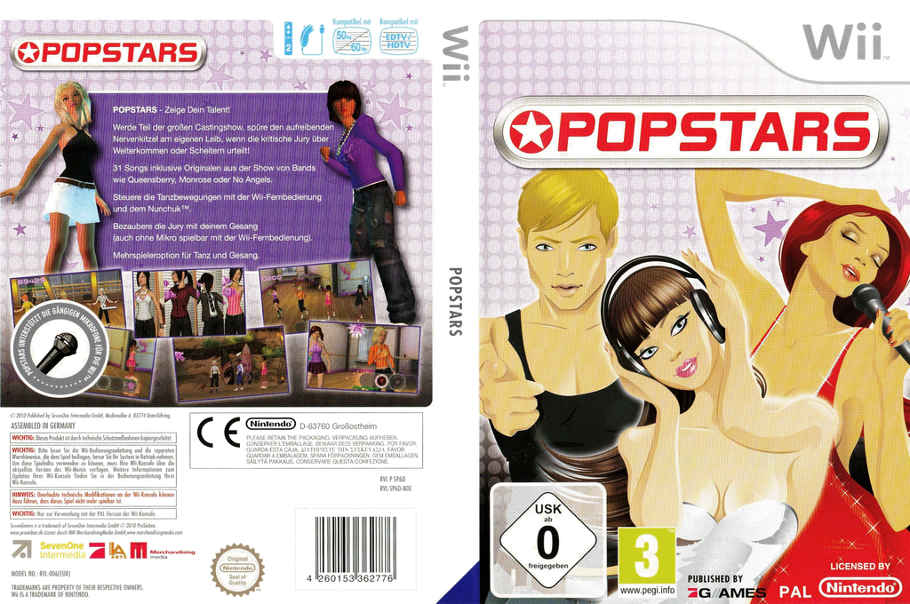 Popstars Wii coverfullHQ (SP6DSV)