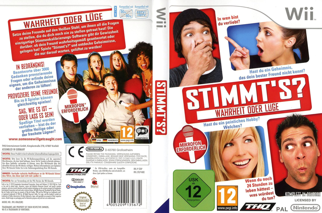 Stimmt's (Truth or Lies) Wii coverfullHQ (STLP78)