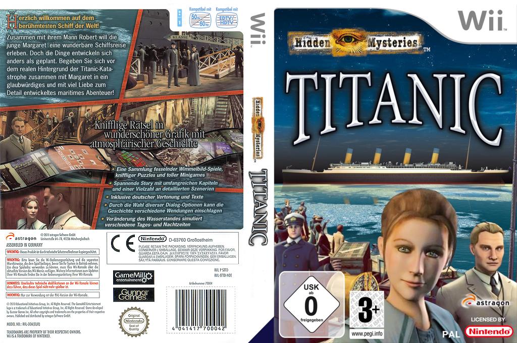 Hidden Mysteries: Titanic Wii coverfullHQ (STTDRM)