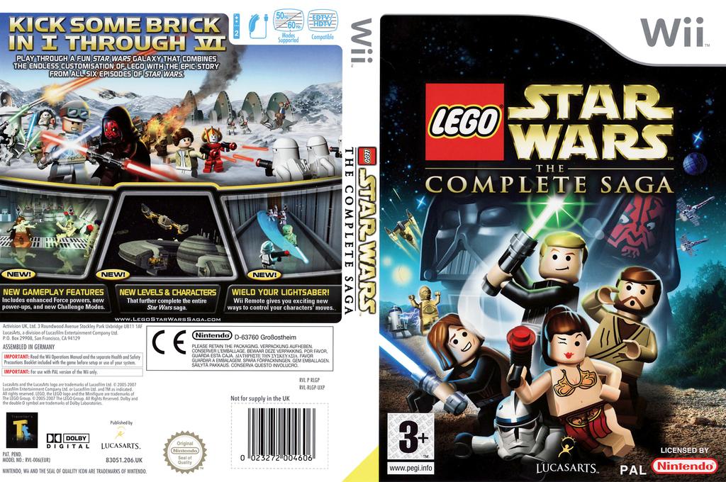 Rlgp64 Lego Star Wars The Complete Saga