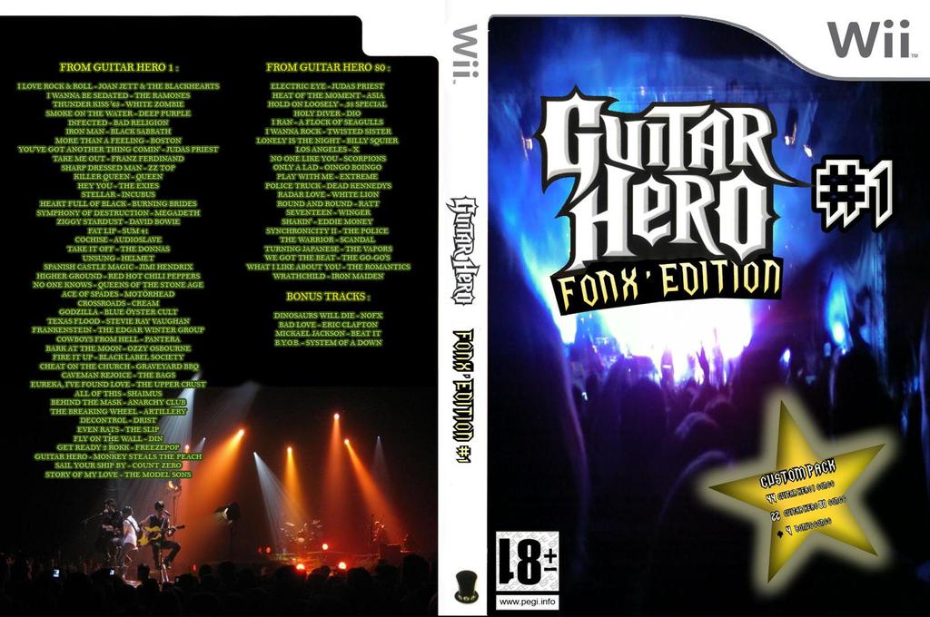 Guitar Hero III Custom:Fonx #1 Wii coverfullHQ (C3FP52)