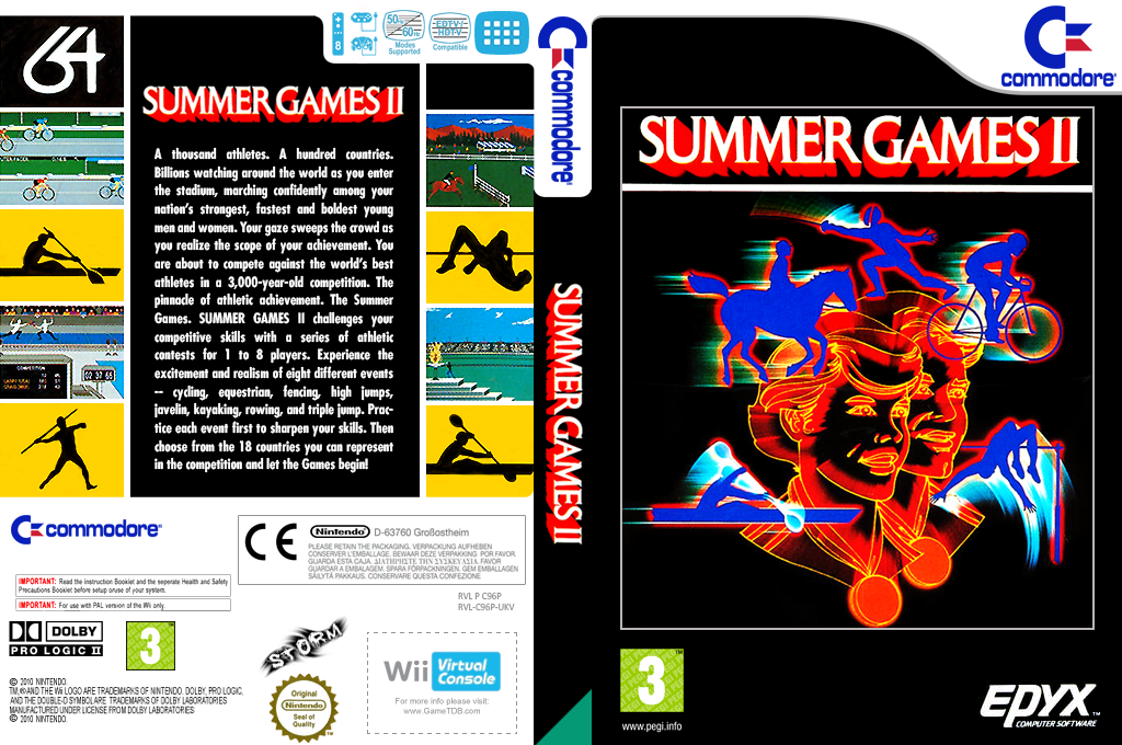 Summer Games 2 Wii coverfullHQ (C96P)